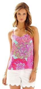 Lilly Pulitzer Top Poolside Blue Keep it Current
