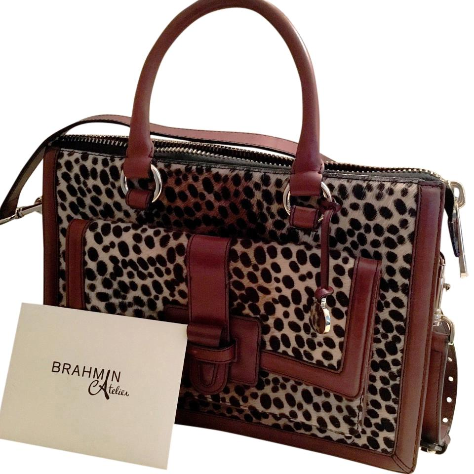 Limited Edition Brahmin Brookline Satchel