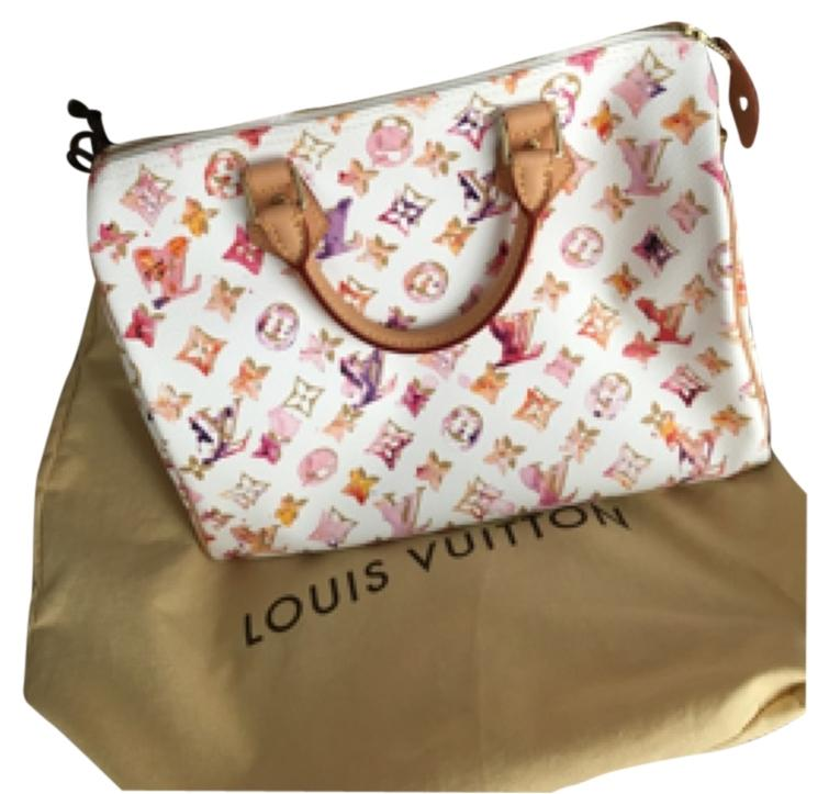 Limited edition louis vuitton watercolor soeedy 30