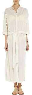 White Maxi Dress by Lisa Marie Fernandez Yellow Dot Swiss Maxi Cover Up Kaftan 3ml