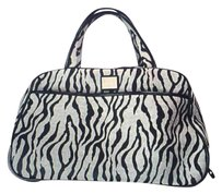 Liz Claiborne Black And Gray Travel Bag
