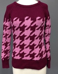 Liz Claiborne Burgundy Sweater