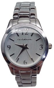 Liz Claiborne Liz Claiborne Ladies Lc1002 Silver Plated Metallic White Dial Analog Watch