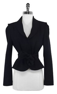 L.K. Bennett Black Wool Blend Jacket