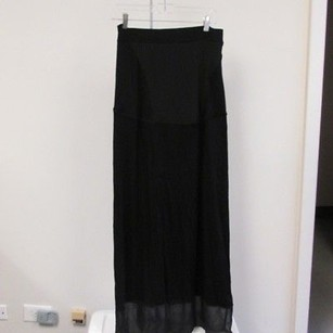 LNA With Tags Full Length Rayon Spandex H084 Maxi Skirt Black