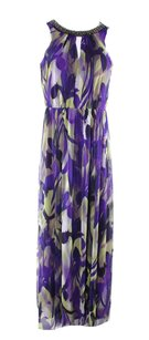 purple Maxi Dress by London Times
