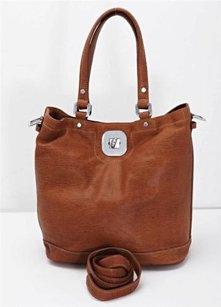 Longchamp Brown Gatsby Sport Tote