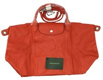Longchamp Tote in Orange