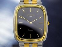 Longines Longines Swiss Made Yellow Gold Plated Stainless Steel Dress Watch 6615