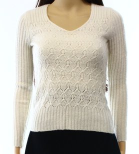 Lord & Taylor 100% Cashmere 3/4 Sleeve Sweater