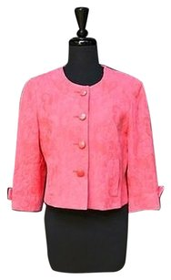 Louben Petite Pink Cotton Pinks Jacket