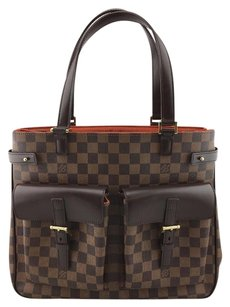 Louis Vuitton Damier Canvas Uzes Tote in Brown