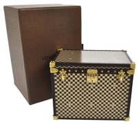 Louis Vuitton Authentic Louis Vuitton Limited VIP Accessory Case Ladies Trunk Vintage