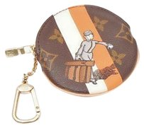 Louis Vuitton Authentic Louis Vuitton Monogram Groom Illustre Round Cles Coin Purse