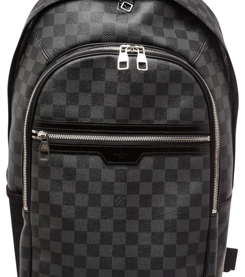 louis vuitton graphite damier canvas michael backpack tradesy. Black Bedroom Furniture Sets. Home Design Ideas