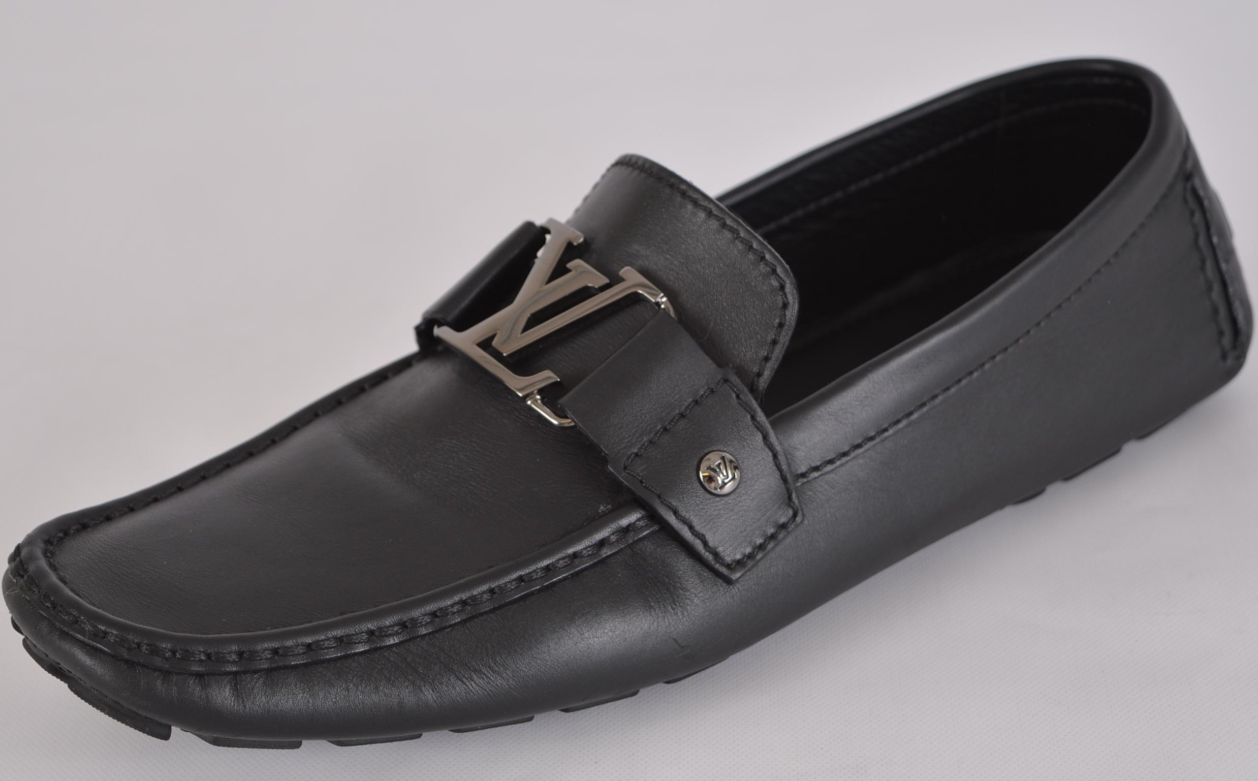 Pre-owned - LEATHER LOAFERS Louis Vuitton UVGg59AT5