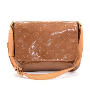 Louis Vuitton Bronze Leather Shoulder Bag