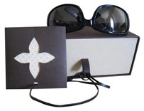Louis Vuitton Brown Carton Only: Hard Shell Side Draw Box for Eye Wear Reading Glasses, Over-sized SunGlasses Accessory