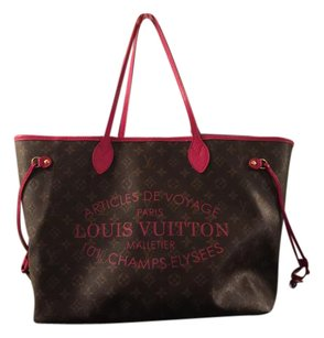 Louis Vuitton Brown/Indian Rose Travel Bag