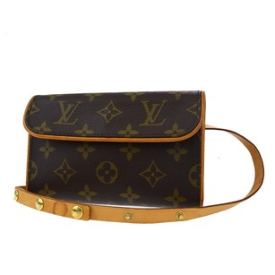 Louis Vuitton Bum Monogram Leather Cross Body Bag