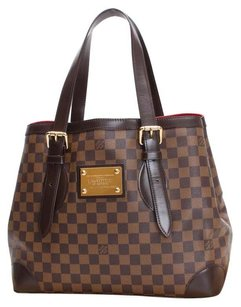 Louis Vuitton Canvas Brown Shoulder Bag