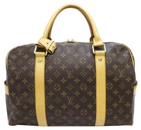 Louis Vuitton Carry All Brown Travel Bag