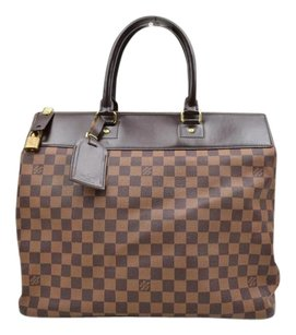 Louis Vuitton Damier Greenwich Luggage Travel Damier Ebene Travel Bag