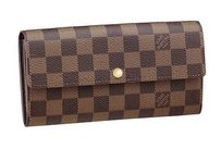 Louis Vuitton Damier Ebene Vintage Long Sarah Wallet