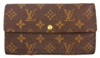 Louis Vuitton Long Bifold Vintage Wallet