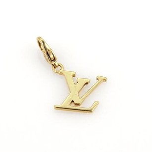 Louis Vuitton Louis Vuitton Charm De Monogram 18k Yellow Gold Pendant Wcertificate