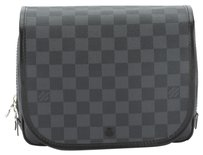 Louis Vuitton Louis Vuitton Damier Graphite Hanging toiletry kit Pouch (Authentic Pre Owned)
