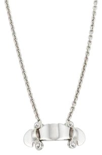 Louis Vuitton Louis Vuitton Stand By Me 18k White Gold Pendant Necklace