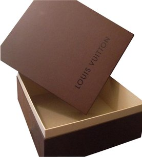 Louis Vuitton Louis Vuitton Large Box Storage Gift box and Brown Receipt Holder