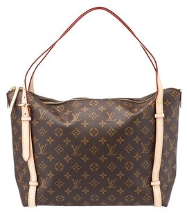 Louis Vuitton Lv Monogram Tuileries Tote in Brown