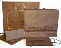 Louis Vuitton Medium Handheld Shopping/ Gift Bag (Shipping Included)