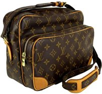 Louis Vuitton Brown LV Monogram Canvas Messenger Bag