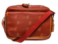 Louis Vuitton Red Messenger Bag