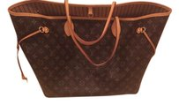 Louis Vuitton Monogram Neverfull Classic Tote in Brown