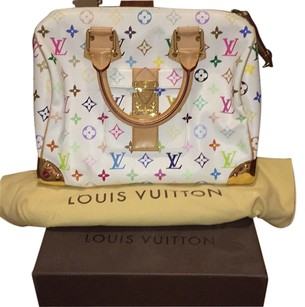 Louis Vuitton Multicolor Speedy 30 Satchel