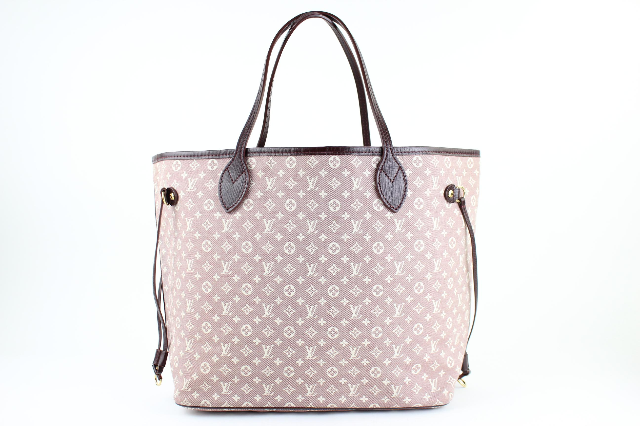 louis vuitton neverfull white. louis vuitton neverfull mm damier ebene limited edition denim tote shoulder bag white 7