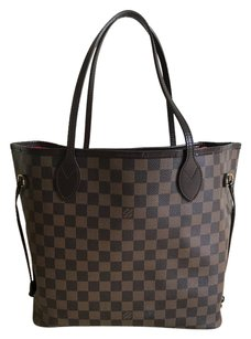 Louis Vuitton Neverfull Mm Lv Neverfull Tote in Damier Ebene
