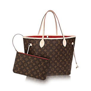 Louis Vuitton Neverfull Speedy Favorite Rose Ballerine Tote