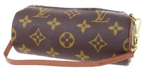 Louis Vuitton Pouch Hand Leather Brown Clutch