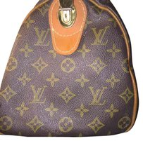Louis Vuitton French Company Speedy Vintage Satchel