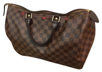 Louis Vuitton Satchel in Black/Brown