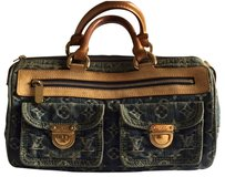 Louis Vuitton Satchel in Blue Jean