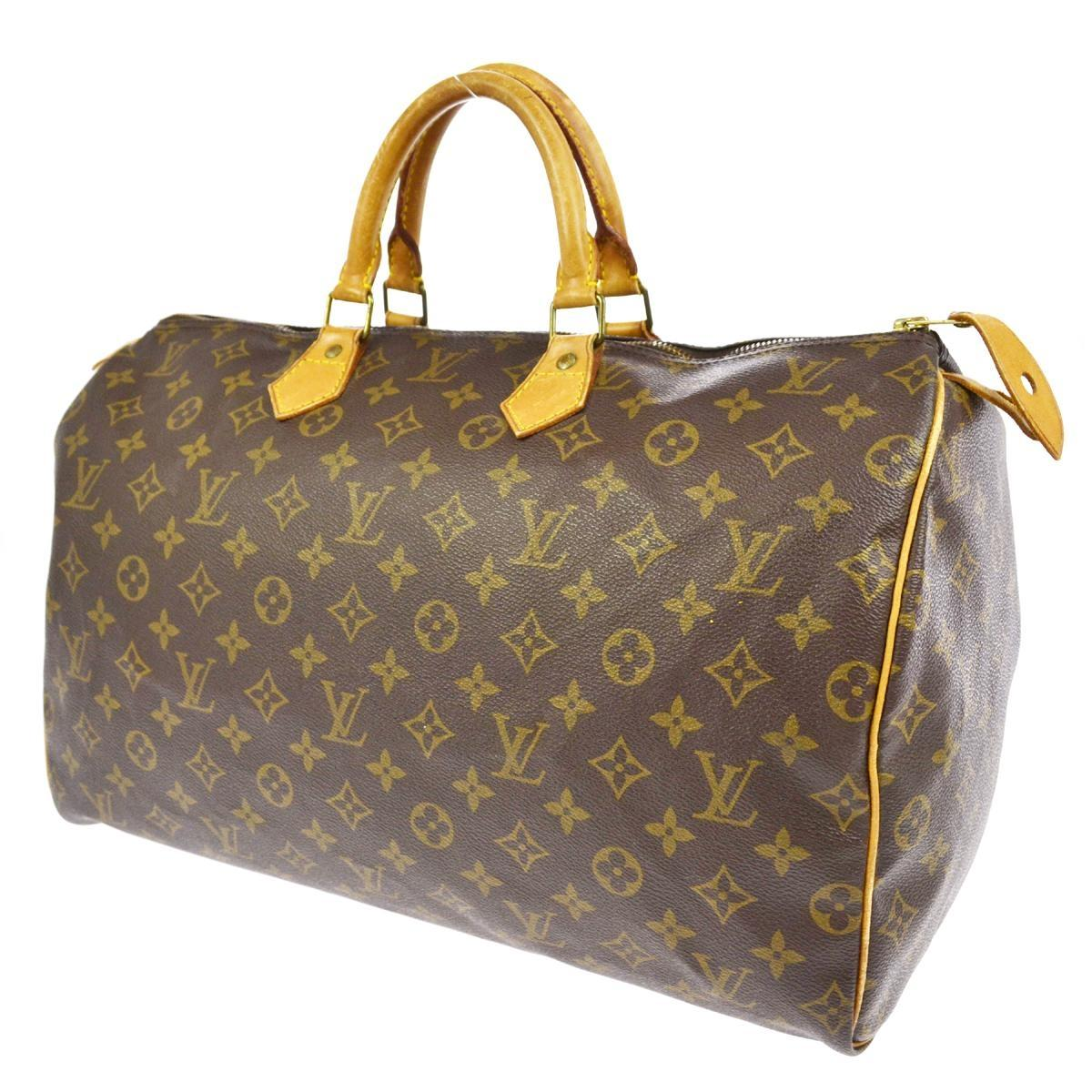 Lv Speedy 40 Monogram