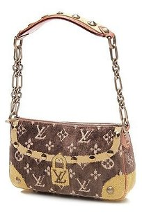 Louis Vuitton Limited Edition Satchel in Brown, yellow