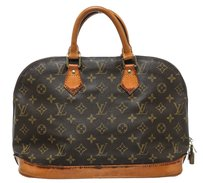 Louis Vuitton Satchel in Coated Canvas
