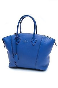 Louis Vuitton Satchel in Neptune (blue)